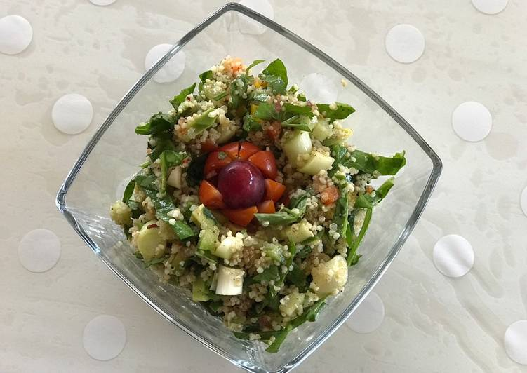 Quinoa and couscous salad