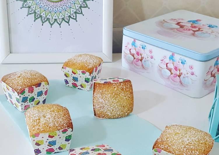 Gâteaux au yaourt individuels