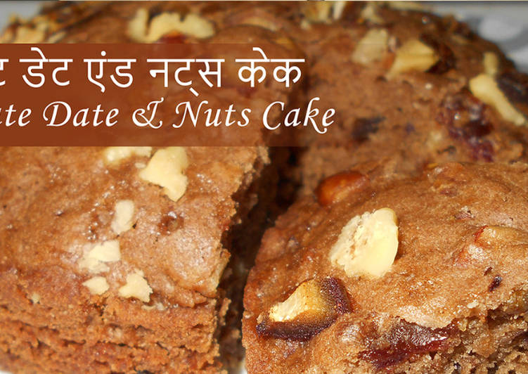 Chocolate Date & Nuts Cake