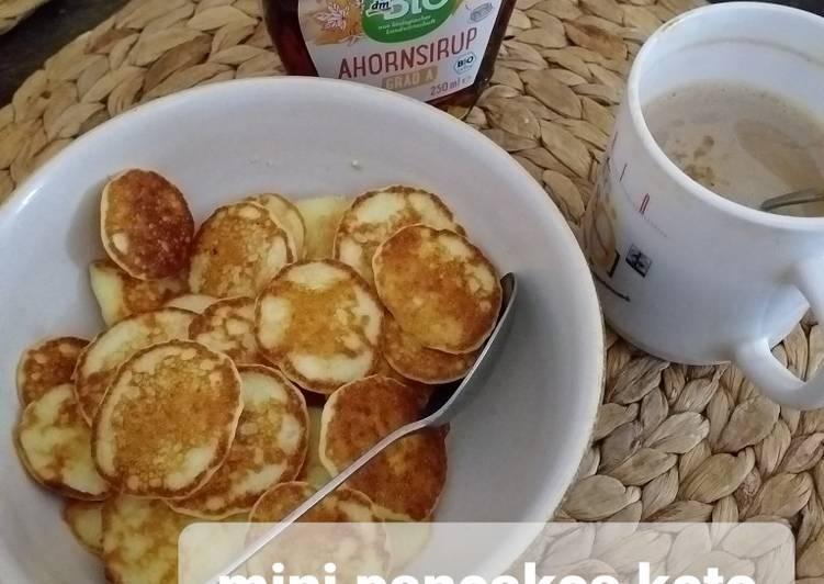 Mini Pancakes Keto