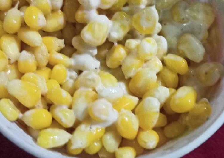 How to Make Super Quick Homemade Mayo sweet corn