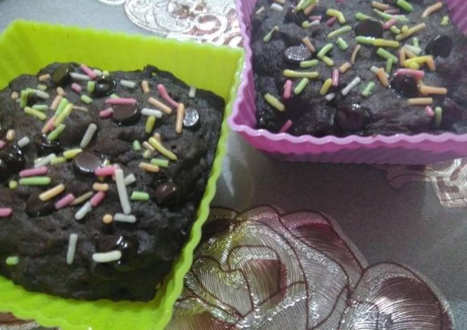 Baked Chocolate Cupcake
