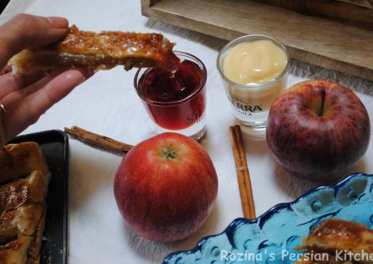 Apple pie fingers