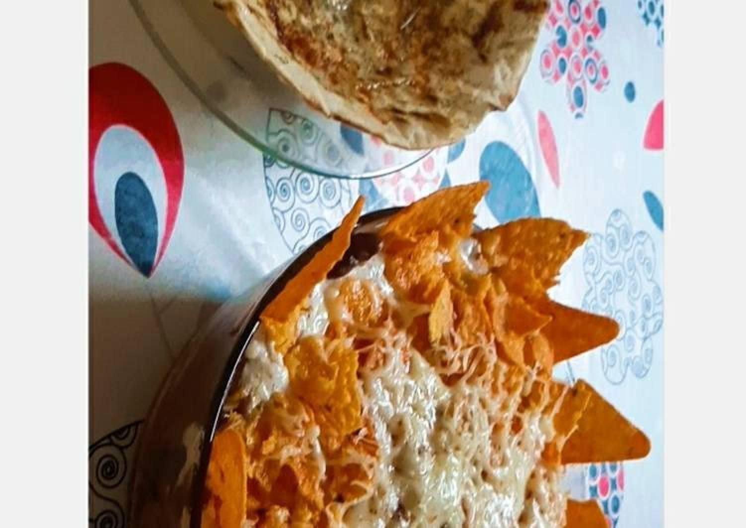 Mexican Burrito bowl with Karari Roti