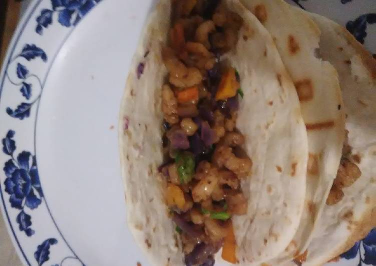 Kidney Diet Shrimp Tacos