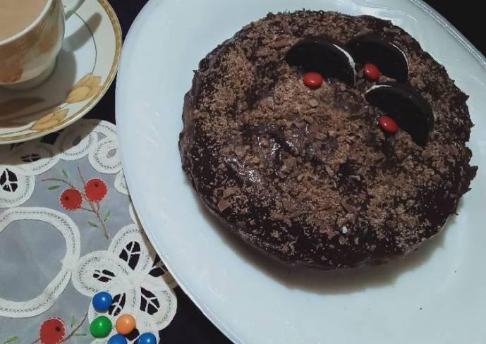 Oreo Chocolate cake in microwave