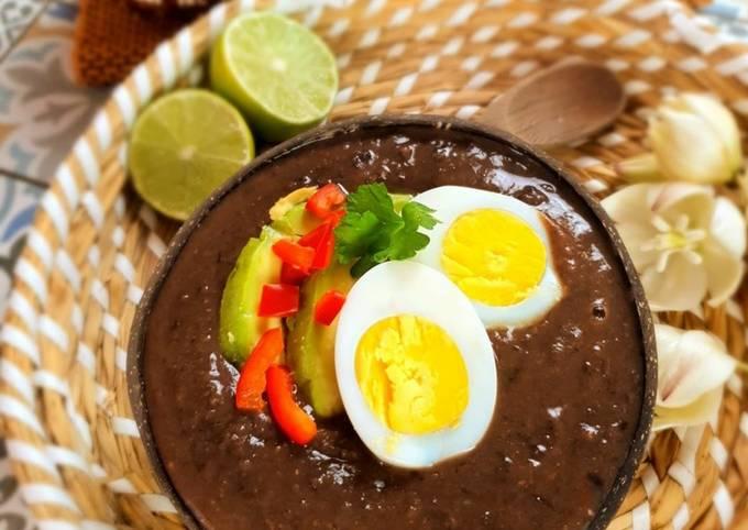 Rezept Um Ultimative Sopa negra – Schwarze Bohnensuppe zuzubereiten