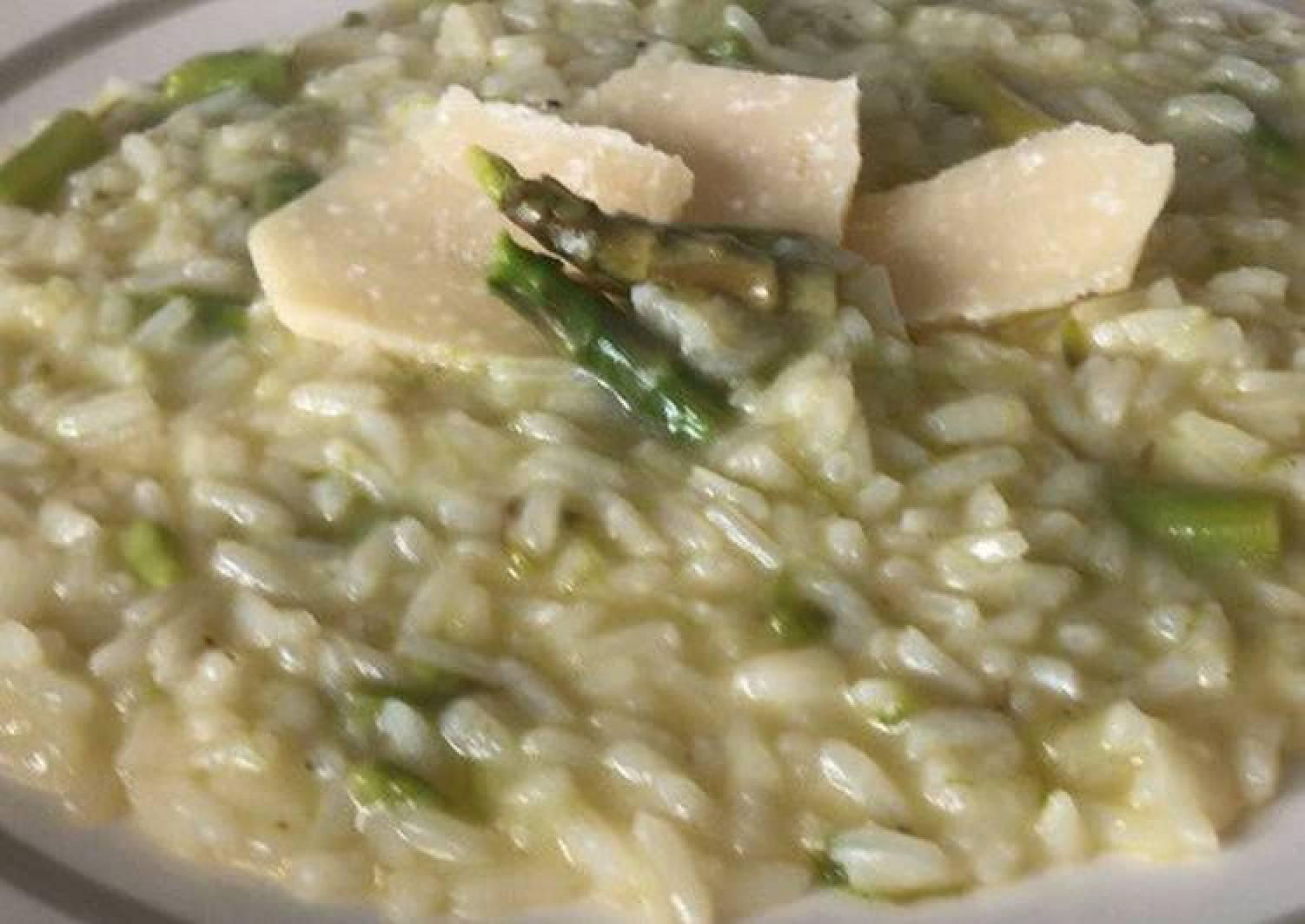 Risotto agli asparagi | Asparagus Rice Recipe