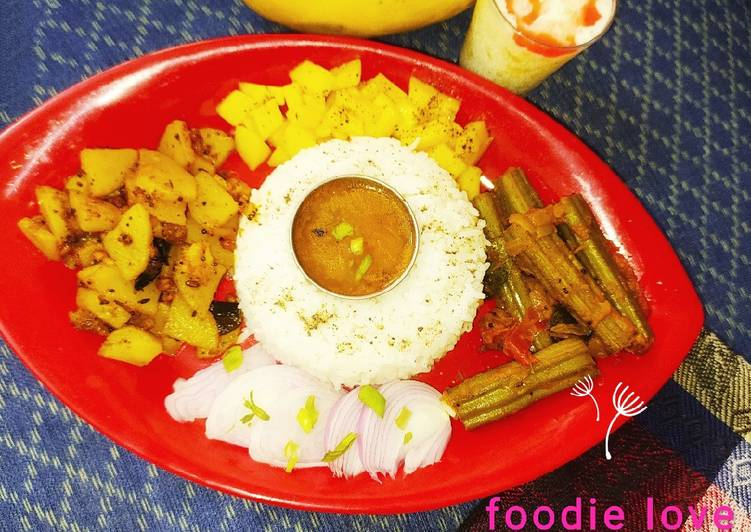 Recipe of Homemade Lunch platter veg