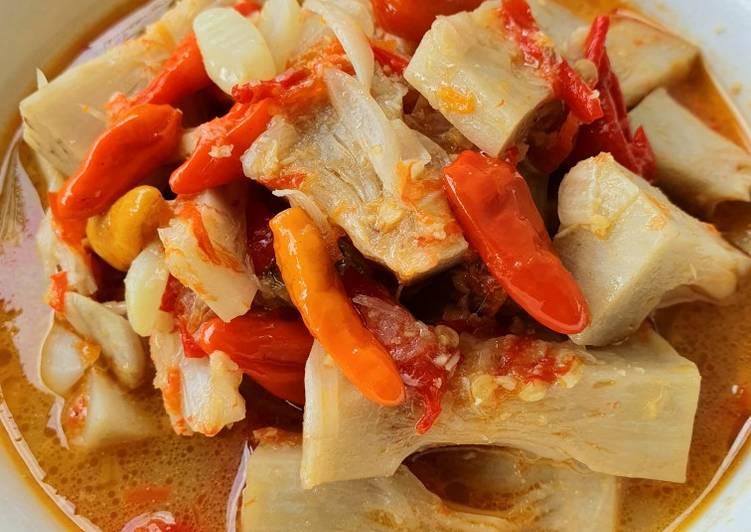Blendi Tewel (sayur nangka pedas khas blitar)