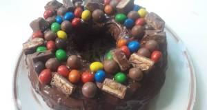 Fun easy chocolate cake birthday cake
