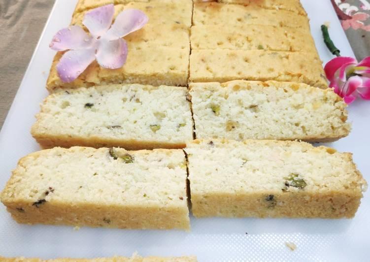 Rasmalai Tea Cake