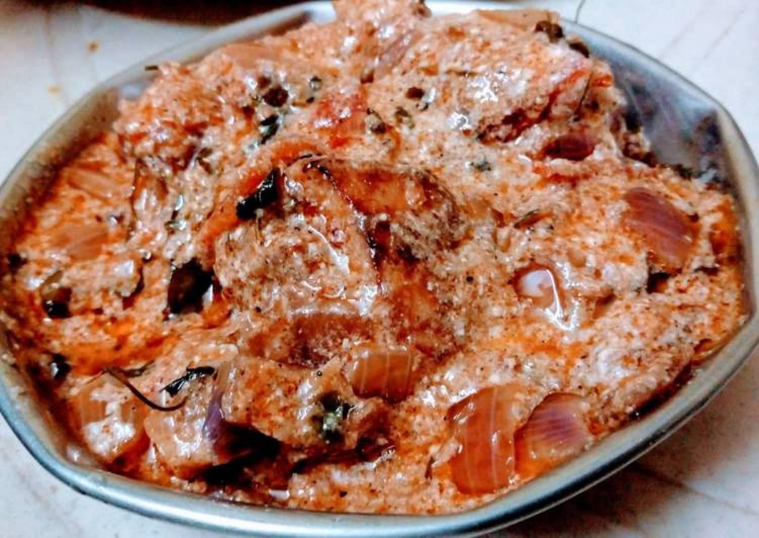 দই চিকেন(curd chicken recipe in Bengali)