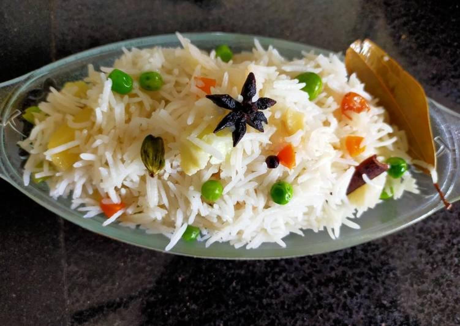Vegetable Navratna Pulao