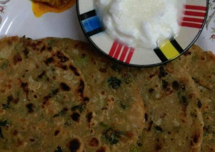 Recipe of Perfect Mooli (Radish) Parathas