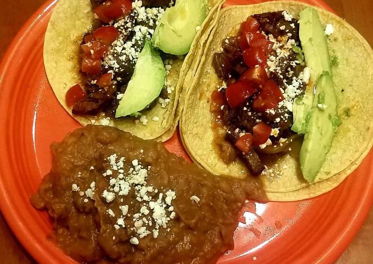 Wagyu Beef Cheeks Tacos
