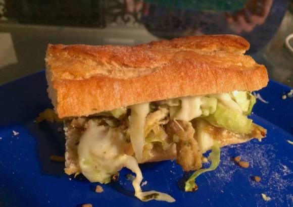 Sandwich de Enchilada Verde