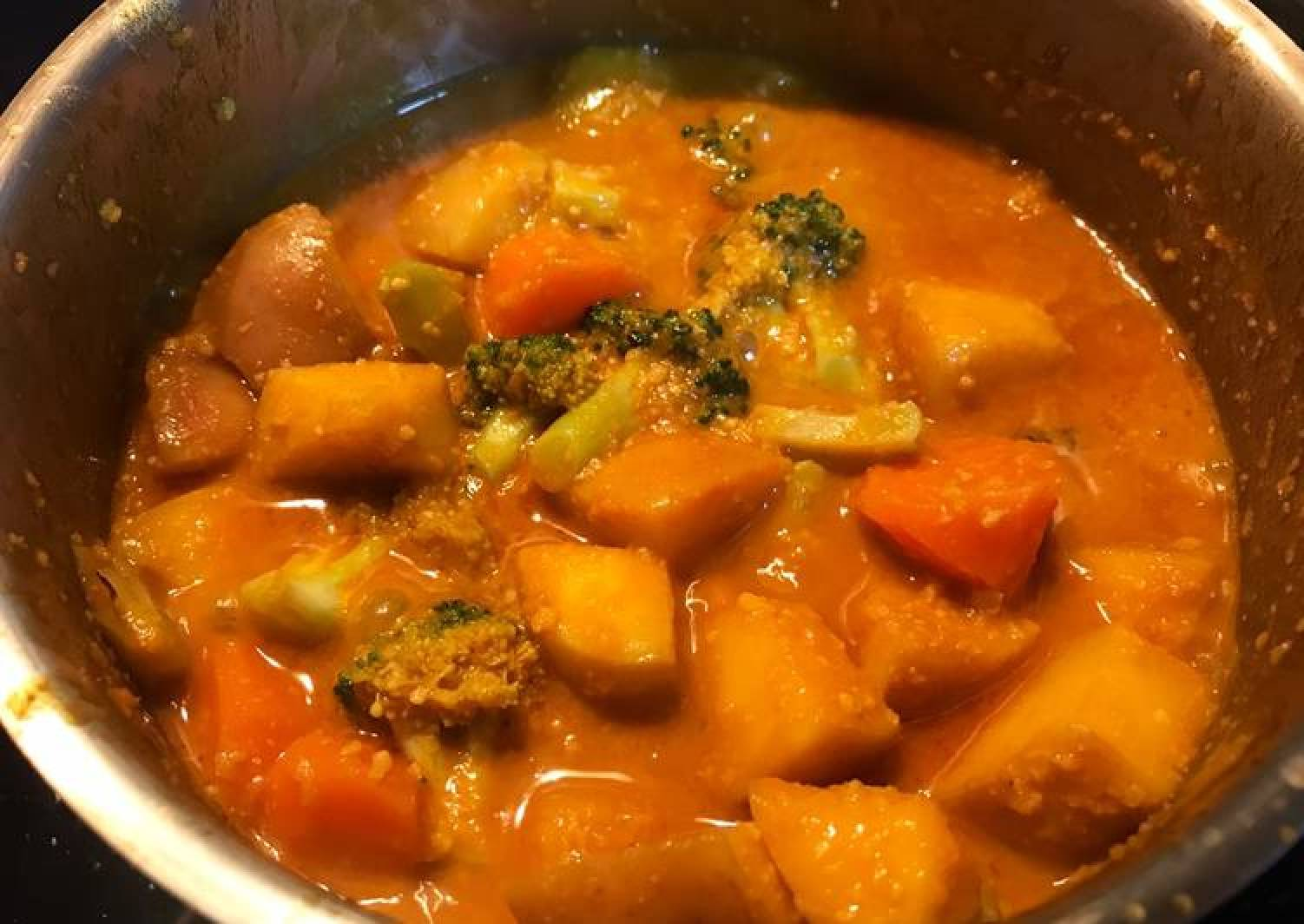 Fruity Vegetarian Curry