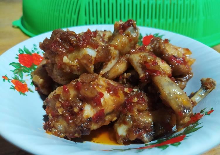 Ayam Bumbu Saus Tiram