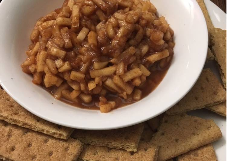 Apple Pie Dip with Pear crockpot