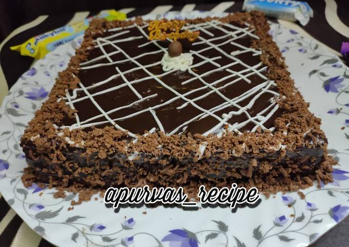Recipe of Favorite Eggless black forest cake without oven
