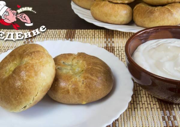 Кныш - пирожки с картошкой - пошаговый рецепт с фото ...