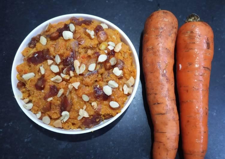 Carrot & Dates Halwa