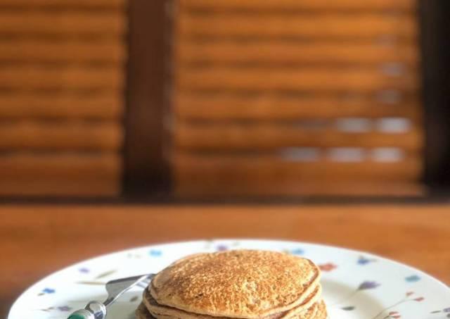 Pancake oat pisang rendah kalori