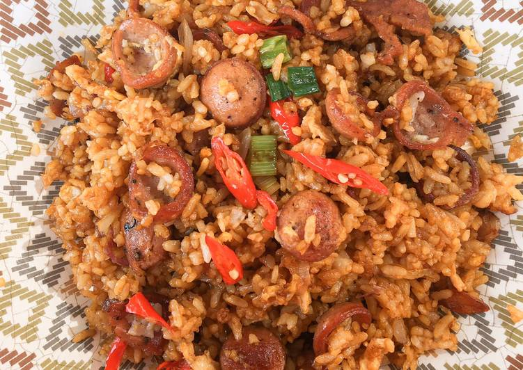 Nasi Goreng Sosis Blackpepper Simple