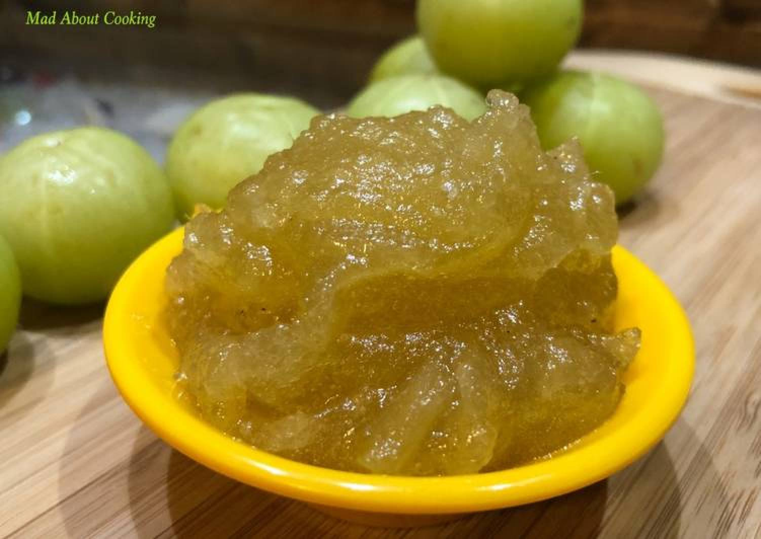 Amla Jam (Gooseberry Jam) – Winter Special