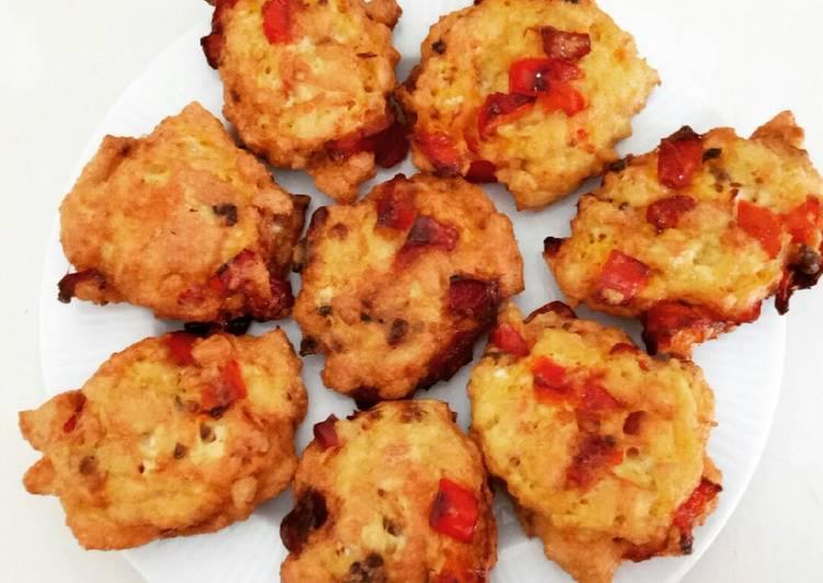 Fried Tofu with Eggs (Perkedel Tahu) *Vegetarian