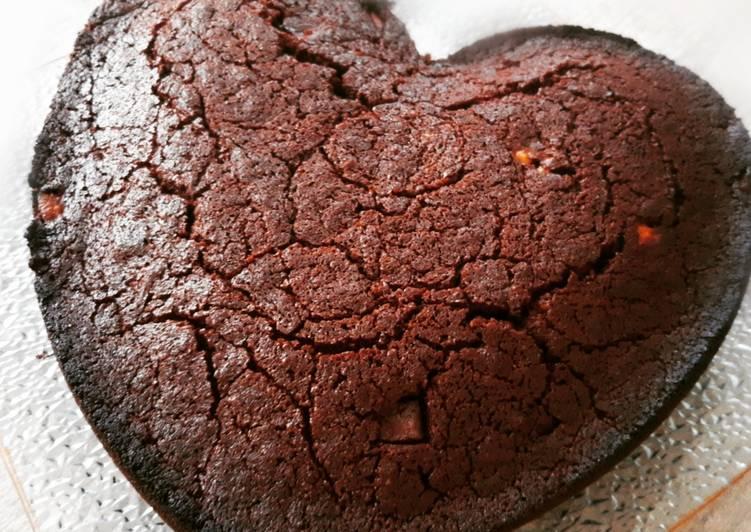 Brownie aux 3 chocolats sans beurre sans lait
