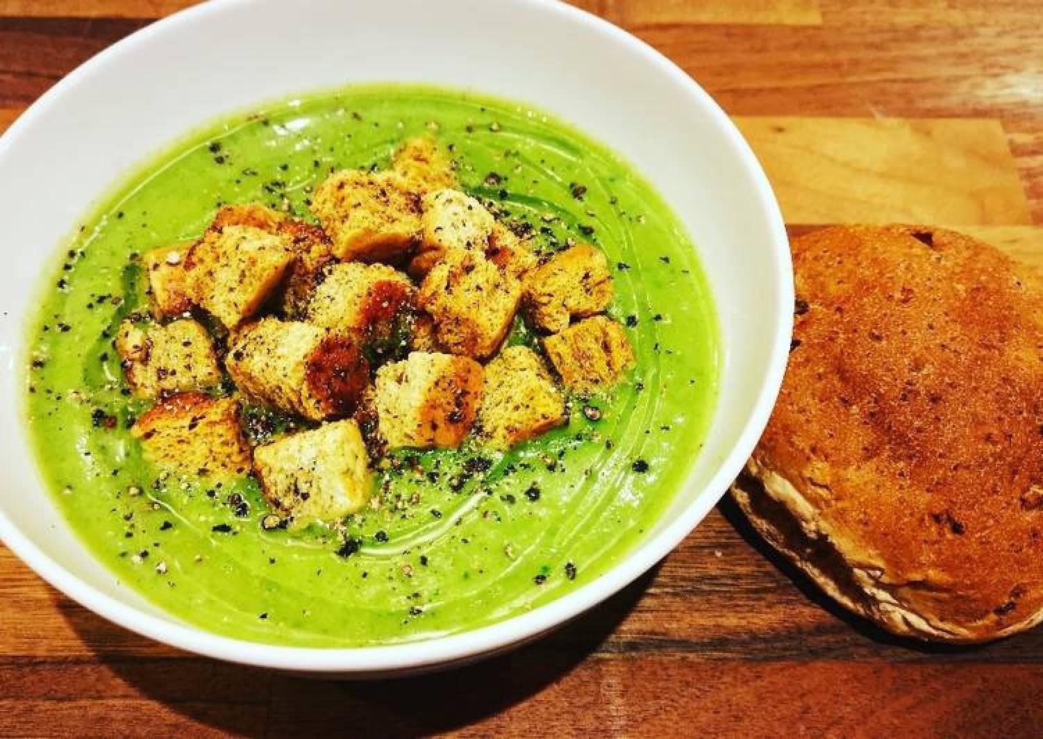 Potato, Leek & Kale Soup