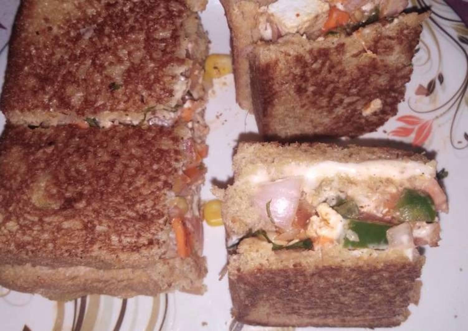 Peri Peri Sandwich-piri piri sandwich