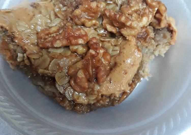 Oatmeal Peanut Butter Casserole