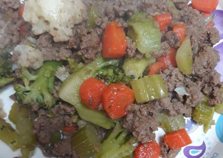 Beef and Veggies