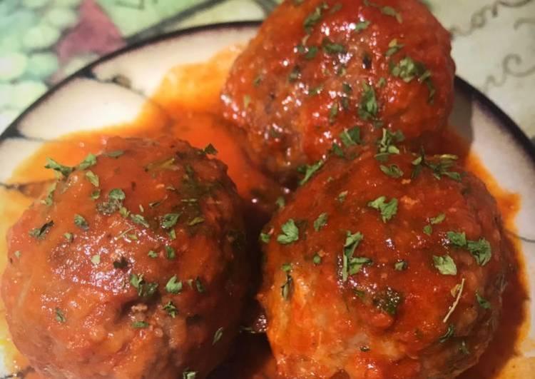 Julie's Spicy Meatballs