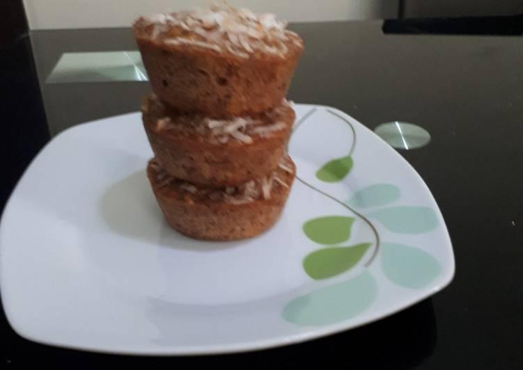 Mini plantain cakes