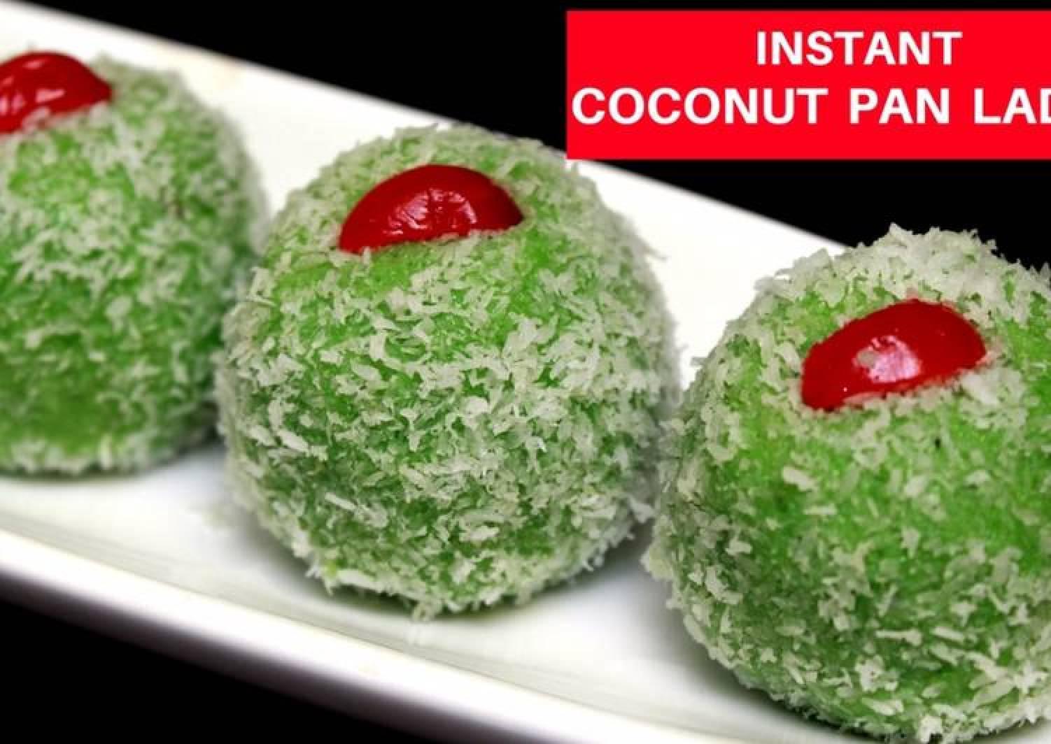 Pan Laddu | Paan Laddu | Coconut & Betel Leaves Balls | Pan Ke Ladoo