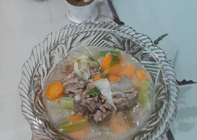 Sayur Sop Bening Daging Sapi Simple