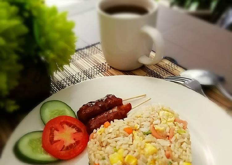 Nasi Goreng Hong Kong ala Resto (versi E-Kitchen)
