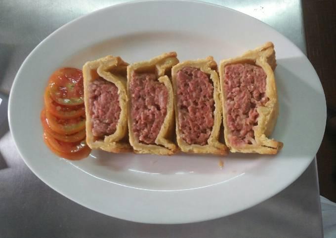 Recipe of Homemade Beef pie