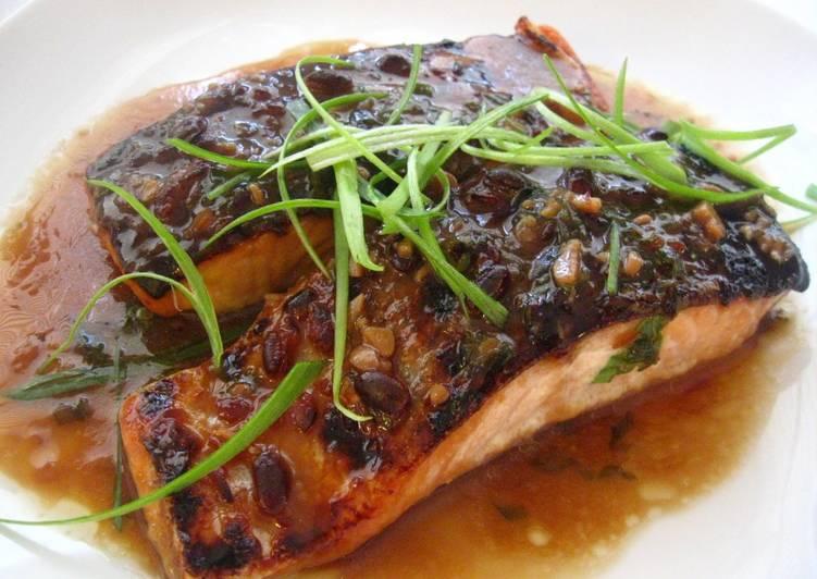 Quick & Easy Miso Salmon for 2