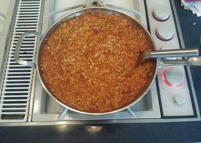 Simple Way to Prepare Ultimate Paleo Spanish Rice with Tuna