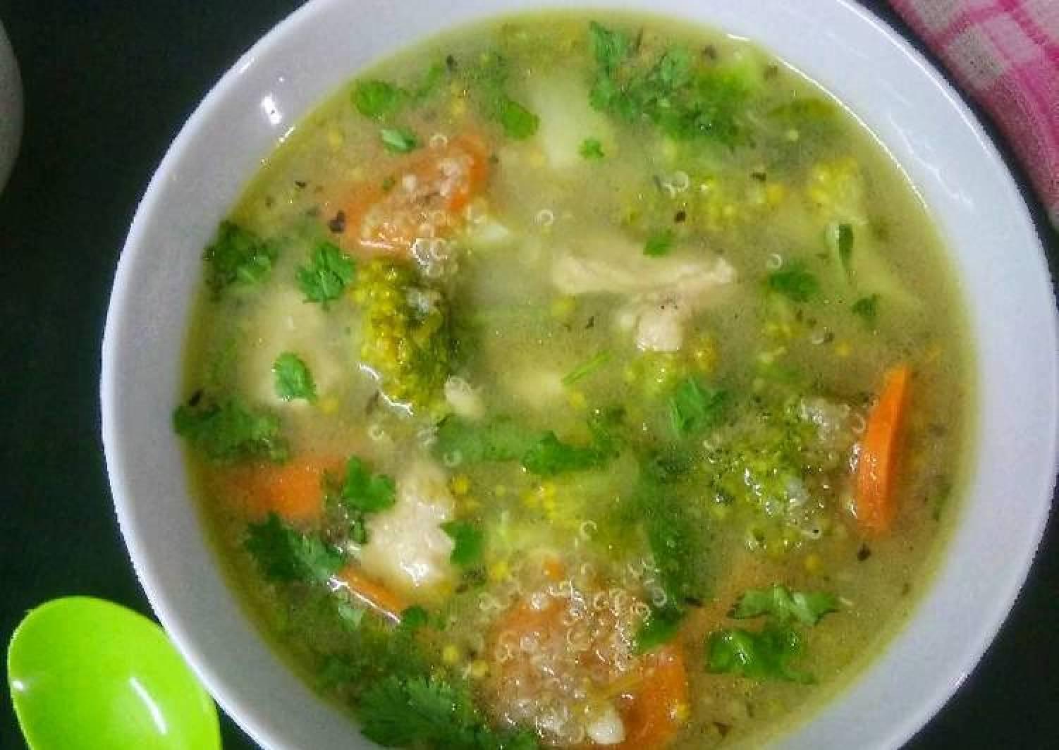 Quinoa Chicken Soup