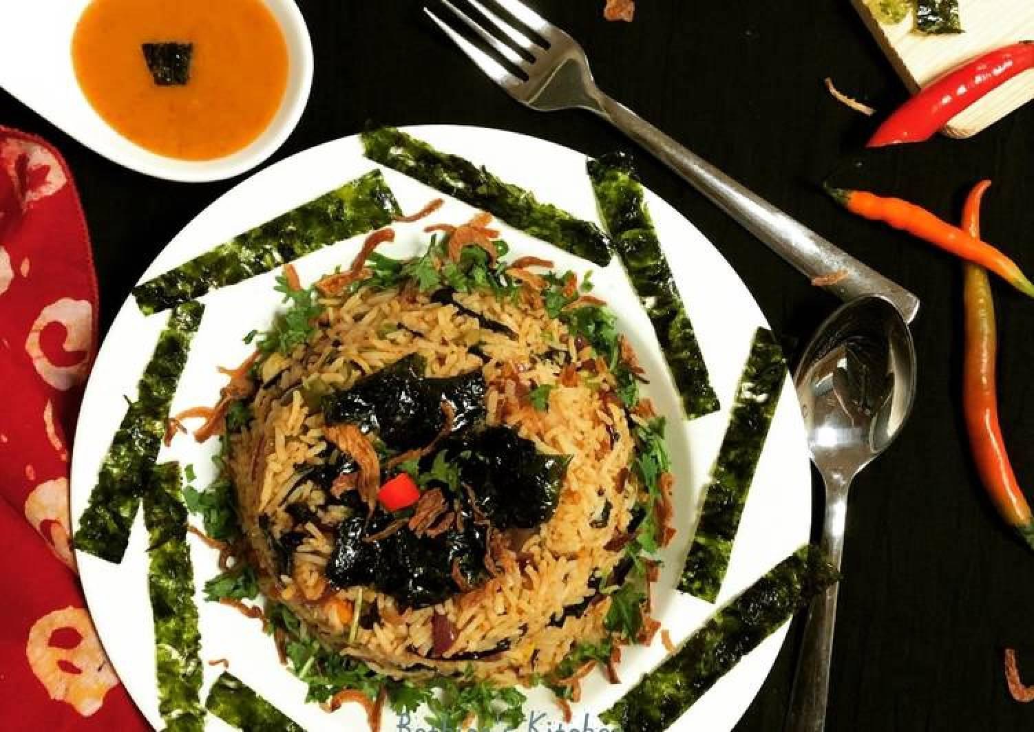 Seaweed Fried Rice