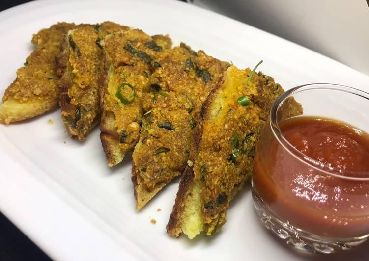 মুসুর ডালের স্যান্ডুইচ (Lentil Sandwich Recipe)