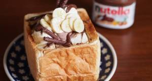 Nutella and banana shibuyahoney toast