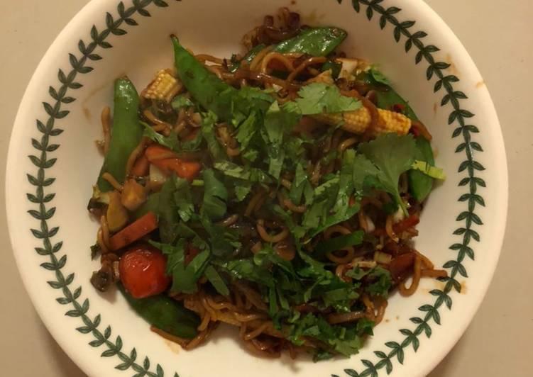 Recipe of Speedy Use-up Vegetable Stir-fry