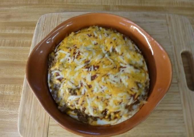 Easy Taco Tuesday Pizza Bake
